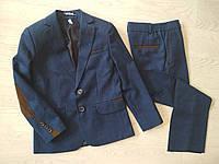 Школьный костюм двойка для мальчика р. 116, 122, 128, 134, 140, 146, 152, 158, фото 1