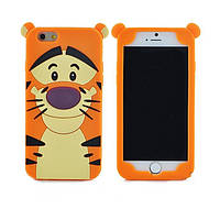 Силиконовый чехол Тигруля iPhone SE/5S/5