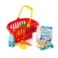 """Корзина """"Супермаркет"""", 33 предмета (красная) 362 в.2"""