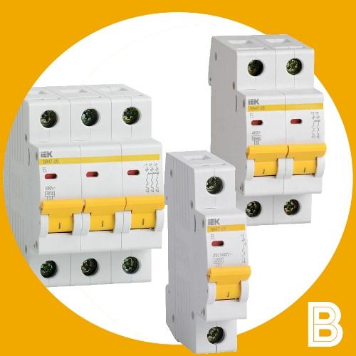 Автоматические выключатели ВА47-29 В IEK