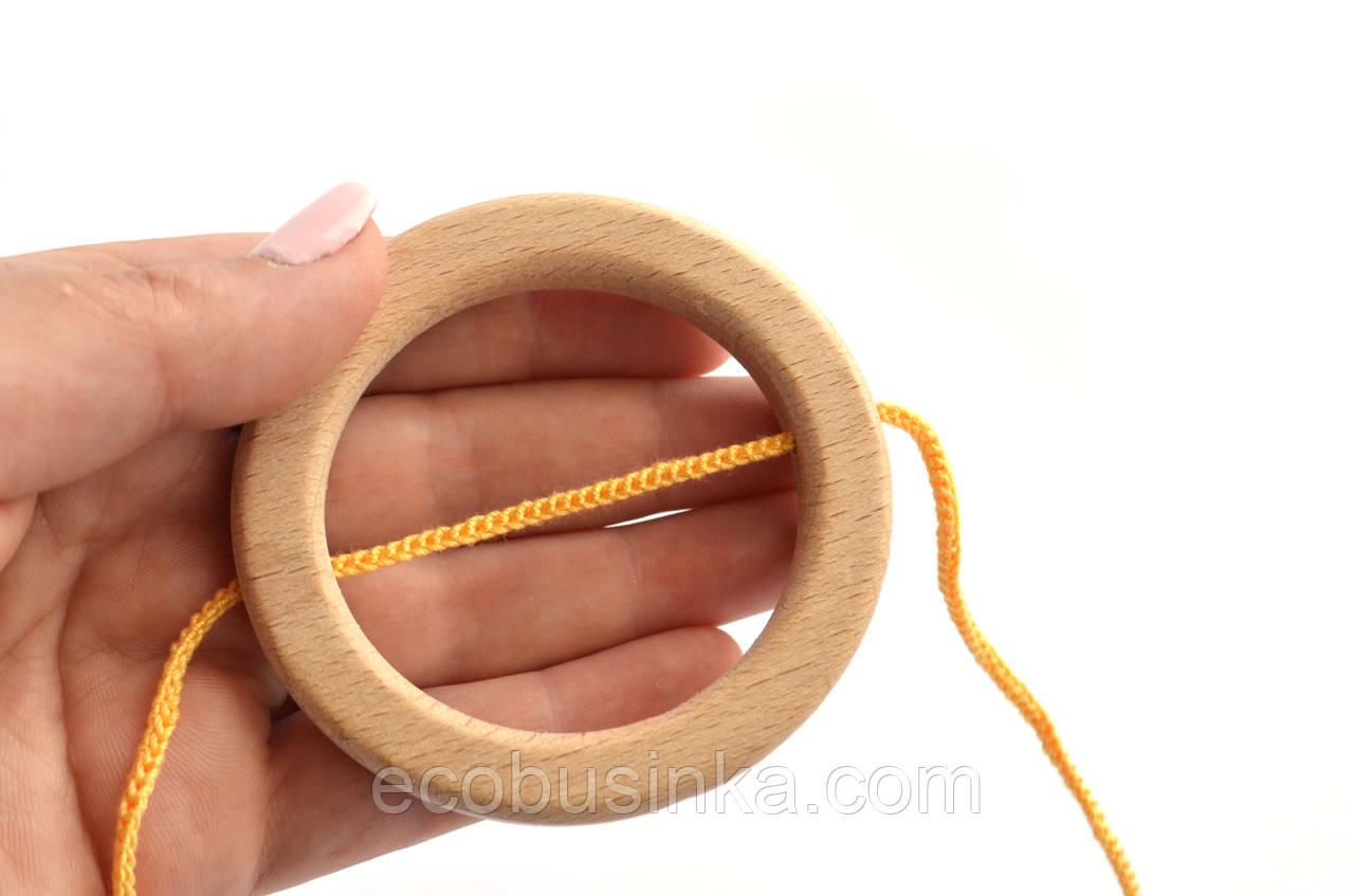 Кольцо со сквозным отверстием, 75мм