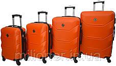 Чемодан Bonro 2019 набор 5 штук оранжевый, фото 3