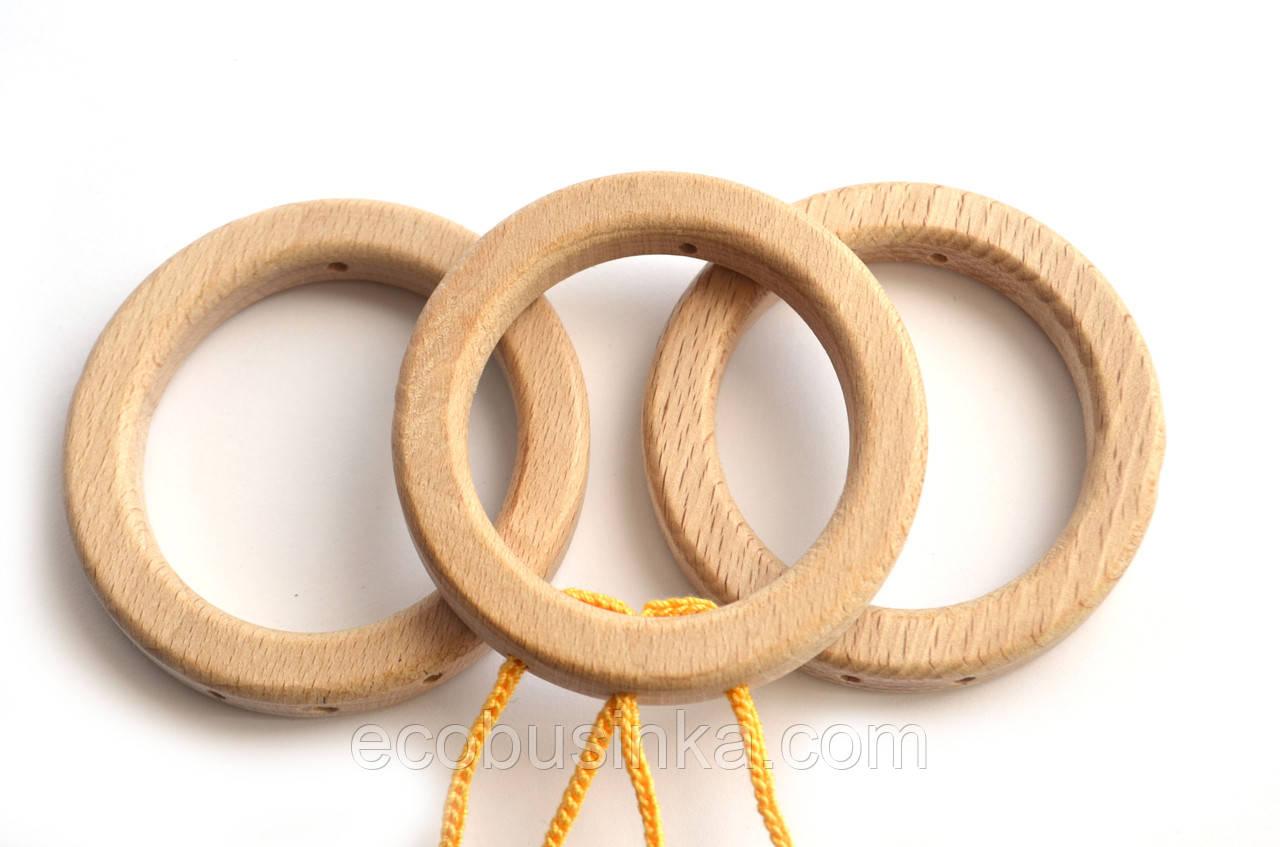 Кольцо-подвеска со сквозными отверстиями, 75мм