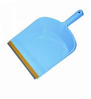 Совок для мусора Buroclean с резиновой вставкой ассорти 10300401