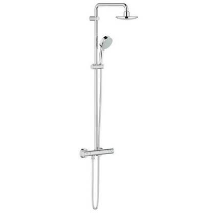 Grohe Tempesta 27922000 душова система з термостатом для настінного монтажу
