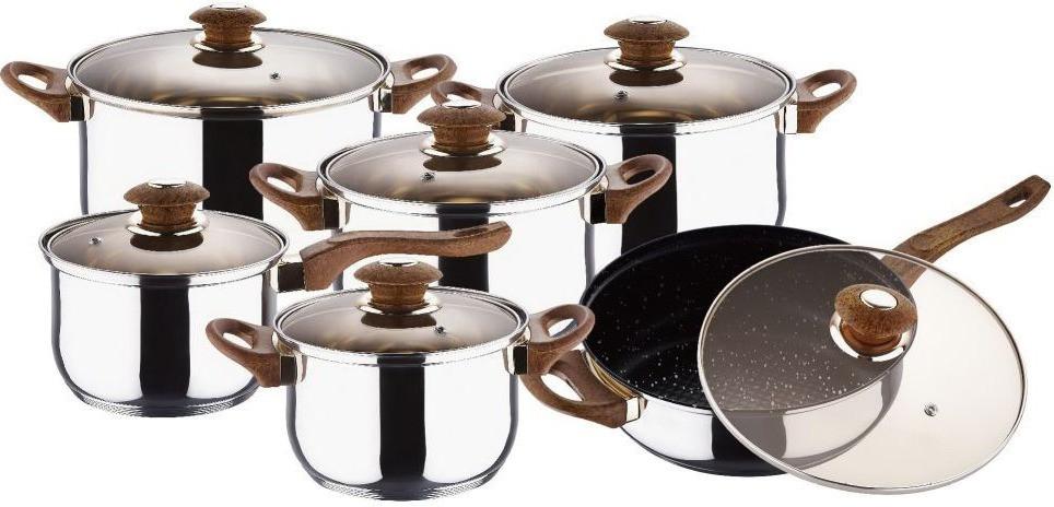 Набор посуды Wellberg 12 предметов (WB 1105)