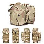 Тактична сумка на пояс для пляшки з MOLLE 26 * 12см, фото 2
