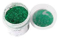 Сухие блестки Зеленые JJCD02 7г 0.2 мм