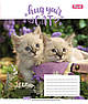 Тетрадь в клетку 36 л. 1 Вересня А5 Hug Your Cat 762564, фото 2