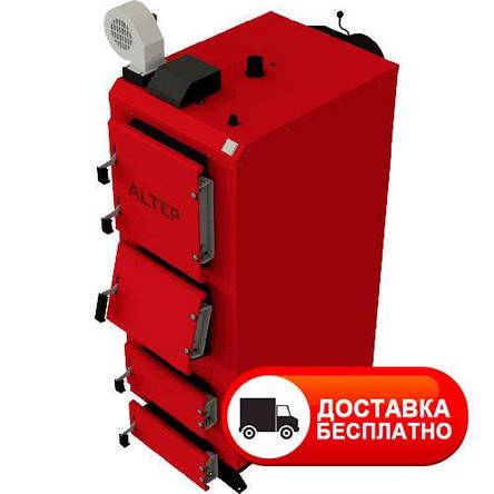 Твердотопливный котел длительного горения Альтеп DUO PLUS 50 кВт (автоматика), фото 2