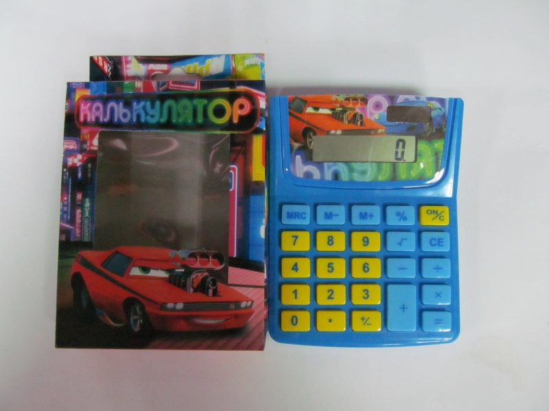"""Калькулятор J.O. диз детск. """"Авто"""" 8 знак"""