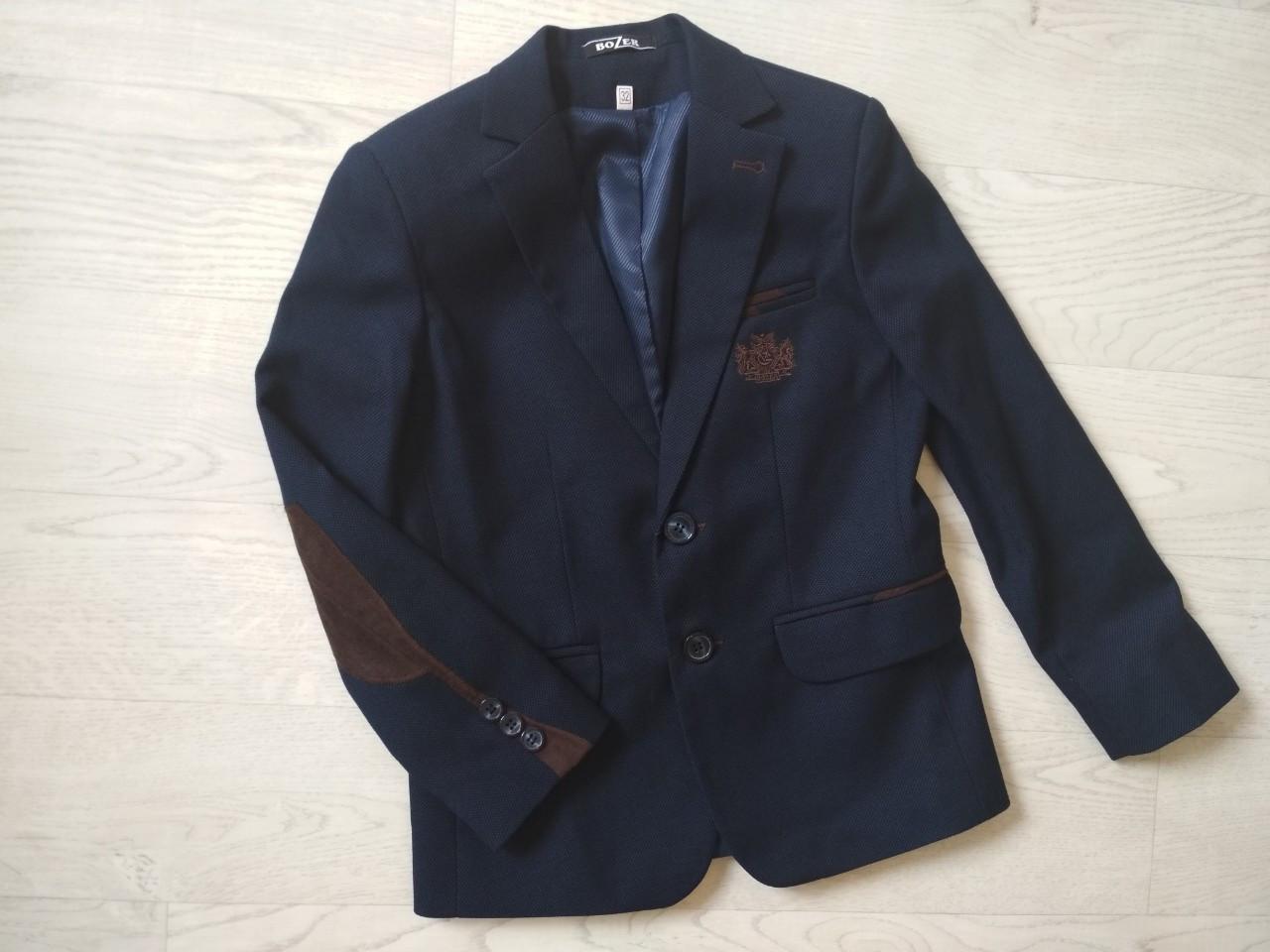 Школьный пиджак для мальчика р. 122, 128, 134, 140, 146, 152