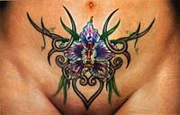 Татуировка на животе Харьков
