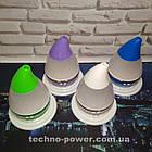 Увлажнитель воздуха 250 мл Вулкан/Капля ультразвуковой Фиолетовый. Увлажнитель воздуха для дома с подсветкой, фото 10