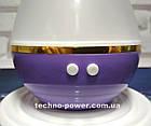 Увлажнитель воздуха 250 мл Вулкан/Капля ультразвуковой Фиолетовый. Увлажнитель воздуха для дома с подсветкой, фото 8