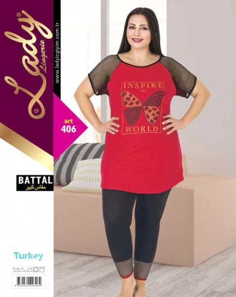 Комплект жіночий великих розмірів LADY TEXTILE 406 розмір 2XL