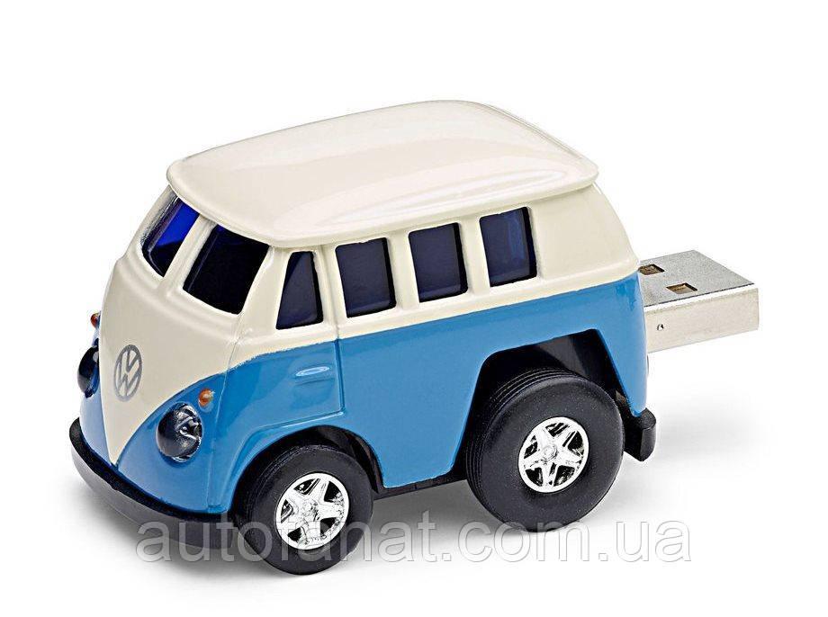 Оригинальная флешка Volkswagen T1 Bulli USB-stick, Blue (211087620A274)
