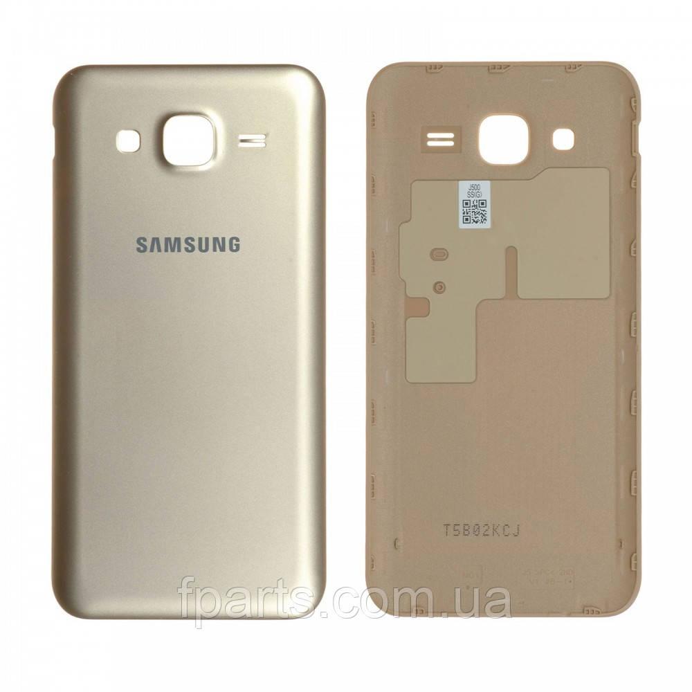 Задняя крышка Samsung J500 Galaxy J5 (Gold)