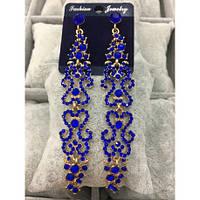 Вечірні сережки Д-22050