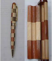 """Ручка дерево + дерев.футляр """"Chess"""""""