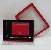 """Набор подарочный """"Printer's Magenta"""" ручка+визит+ремешок"""