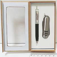 """Набор подарочный """"Ручка+нож"""" 12.5x6.4x2"""