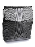Рюкзак женский кожаный серый 8504-4 Gray, фото 1