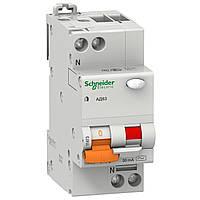 Диференційний автоматичний вимикач Schneider Electric  АД63 2П 40A 3 30MA