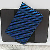 """Обложка для паспорта """"Синее плетение"""""""