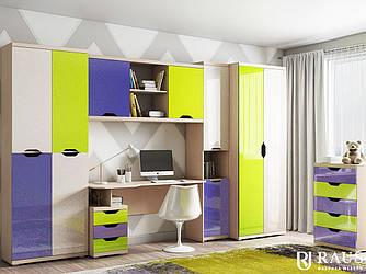 Мебель детская Дана-2 Яркая композиция2