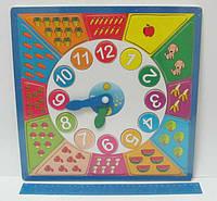 """Игра """"Часы"""" деревянные 30см"""