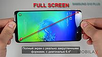 Лучшая Корея Samsung S10 Plus s10+ 4G копия FULL SCREEN 8/256Gb сборка корейская самсунг с10 плюс