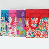 """Пакет бумага """"Цветы"""" mix"""