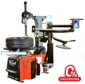 """Шиномонтажний стенд (автомат, захоплення диска від 10"""" до 26"""", + технороллер, пневмовибух) Bright GT887N-AL390 380V"""