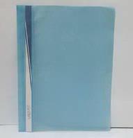 Папка-скоросшиватель12/12мкр, А4 с верх.пр.лист,синяя J.Otten /12 /0 /480
