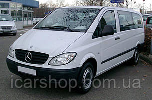 Стекло Mercedes Vito II W639 (Viano) 03- L1 заднее салона левое SG