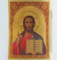 """Плакат объемный """"Иисус Христос"""" 20*30см"""