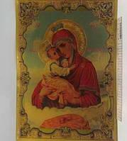 """Плакат объемный """"Почаевская иконац"""" 20*30см"""