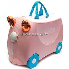 Детский чемодан для путешествий Trunki Flossi Flamingo 0353-GB01
