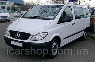 Стекло Mercedes Vito II W639 (Viano) 03- L2 заднее салона левое DG