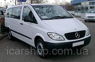 Стекло Mercedes Vito II W639 (Viano) 03- L2 заднее салона правое TSG