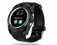 Умные смарт часы Smart Watch V8 Черные