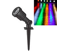 Газонный светильник 3Вт SP1402 RGB, фото 1