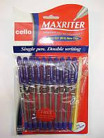 """Ручка шариковая """"CL"""" Maxriter (фиолет) NEW Дизайн + 1 Ручка""""Universal"""" в подарок"""