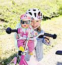 Велосипедное кресло для куклы пупса Беби Борн Baby Born Zapf Creation 827277, фото 6
