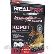 "Прикормка рыболовная Real Fish ""Карп"" Кислая груша"