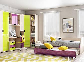 Мебель детская Дана-2 Яркая композиция5