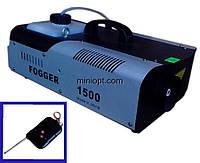 Дым-машина (дымогенератор). 1500W, фото 1