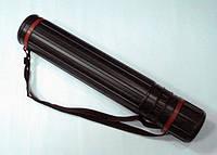 Тубус для чертежей D- 10 (50-90) см (черный)