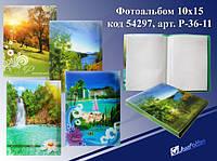 "Фотоальбом 36 фото пластик ""Природа"" mix4 (36-60 фото)"